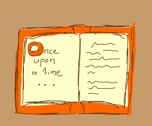 the beginning of the book