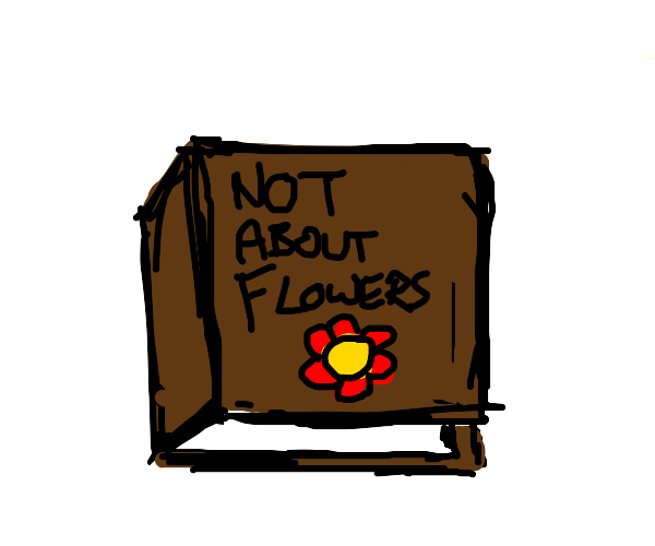 Not a book about flowers