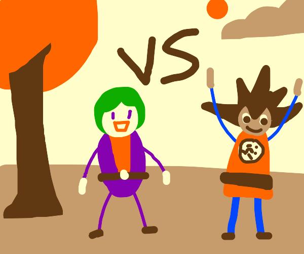 joker vs. goku