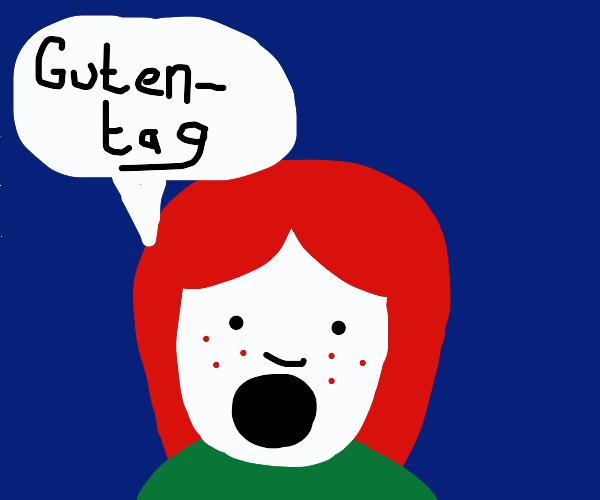red-head is german
