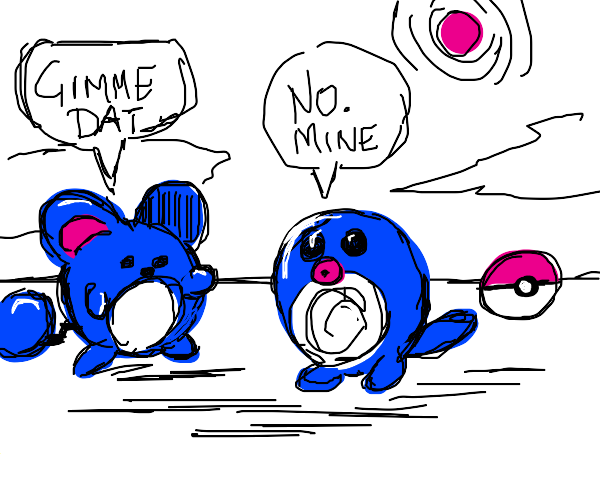 Maril can't have pokeball