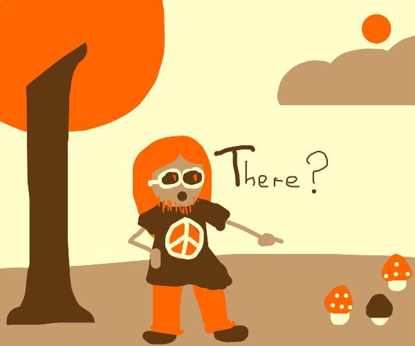 A hippie stoner seeks his next edible