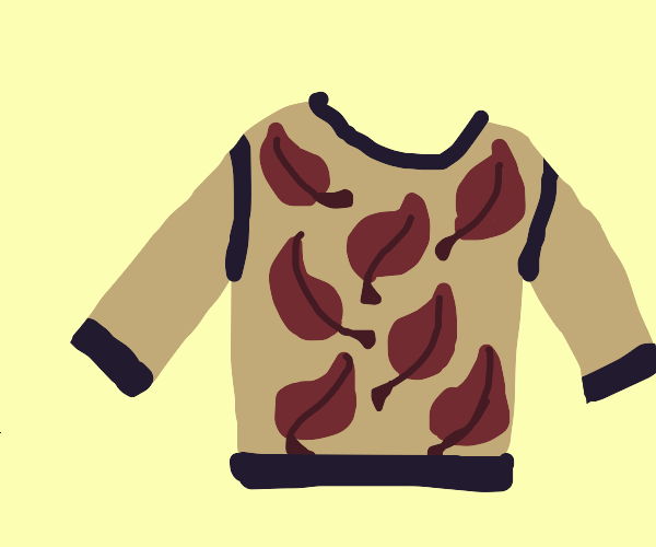A fall inspired sweater