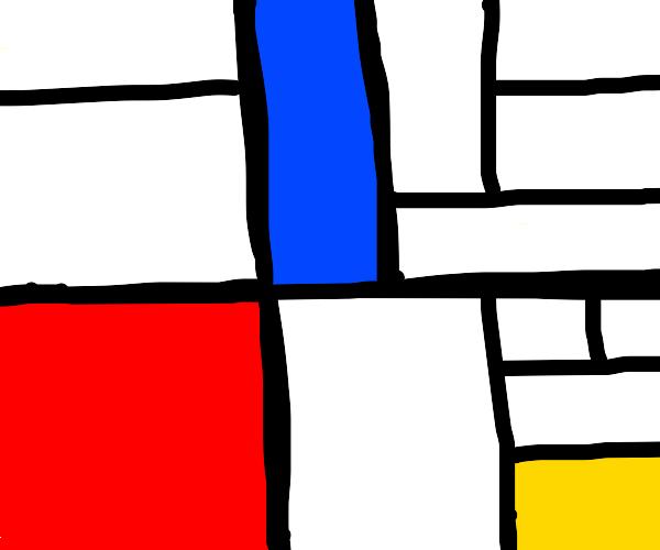 Any random Mondrian painting