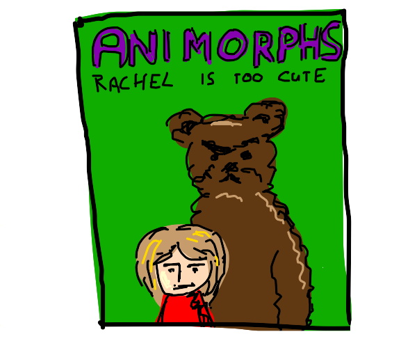 draw your own animorphs cover