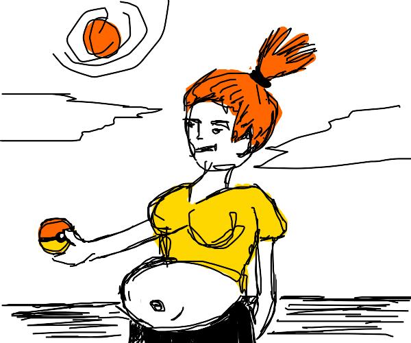 pregnant mista