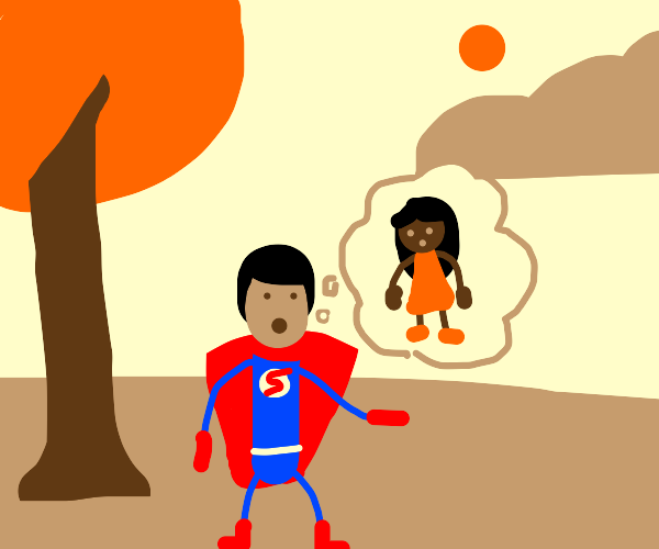 superman thinks of a long lost child