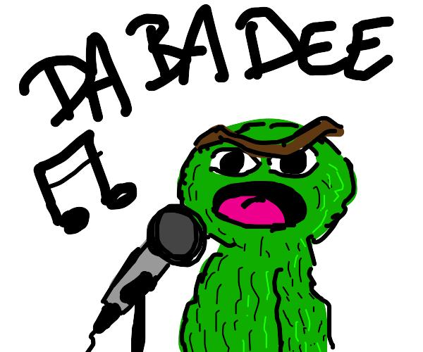 green noseless singer