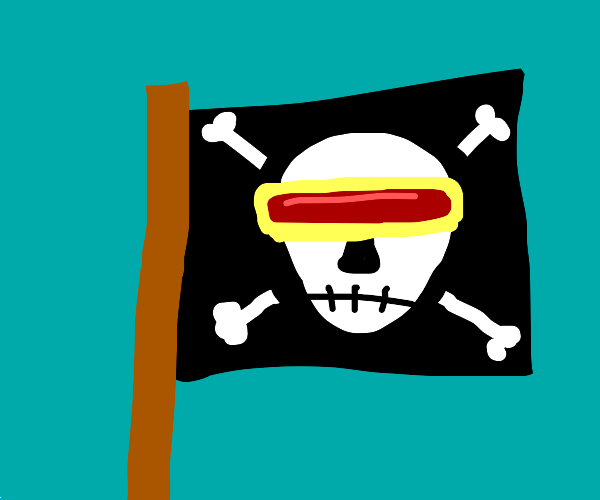 cyclops pirate flag