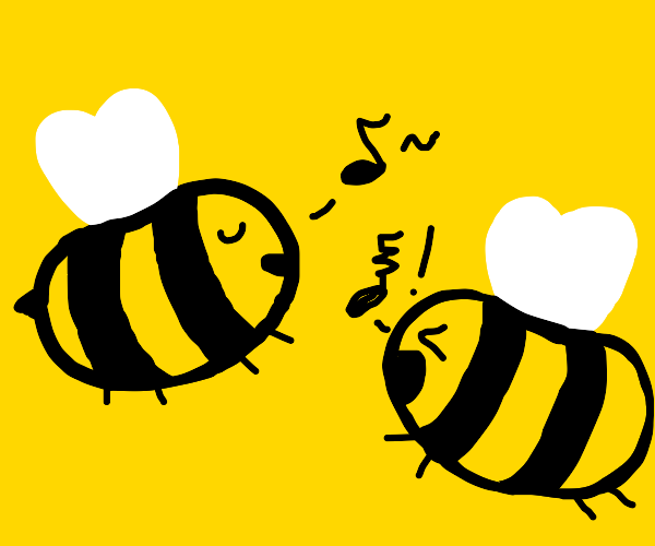 cute bees have conflicting music tastes
