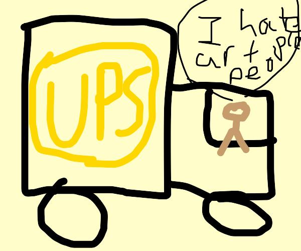 Truck Driver Box Art