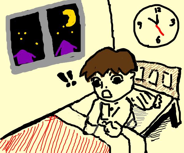 Waking up at 10 o'clock