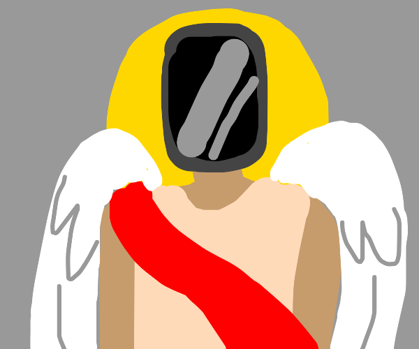 Angel has a phone head