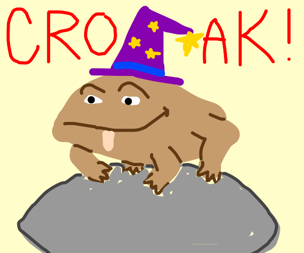 Wizard-Like Toad