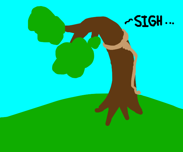 hanging tree from hungergames, but literally