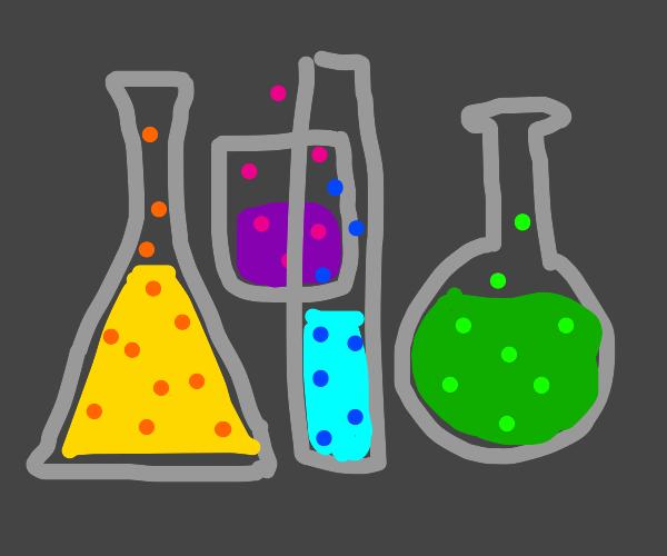 Liquid potions