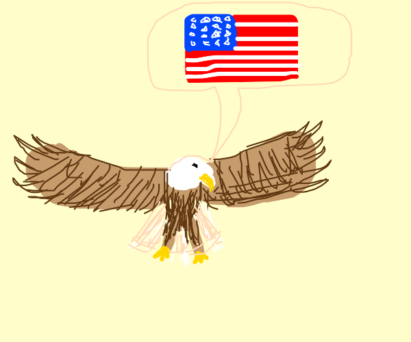 a bird that is quite fond of the USA