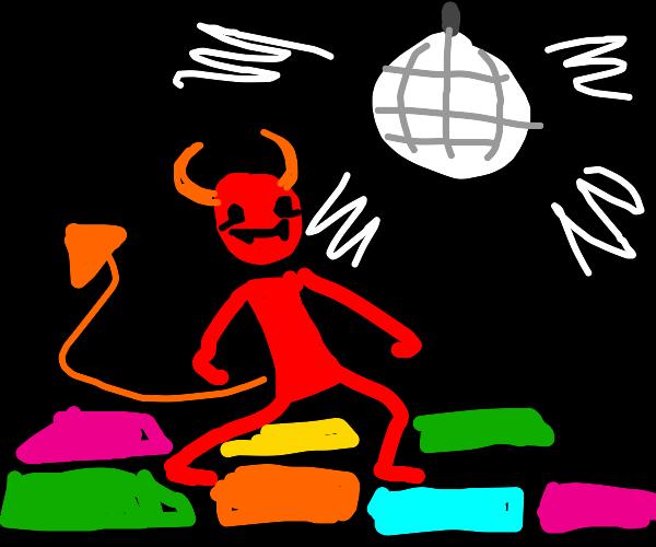 Disco devil.
