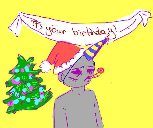 Having your birthday on christmas