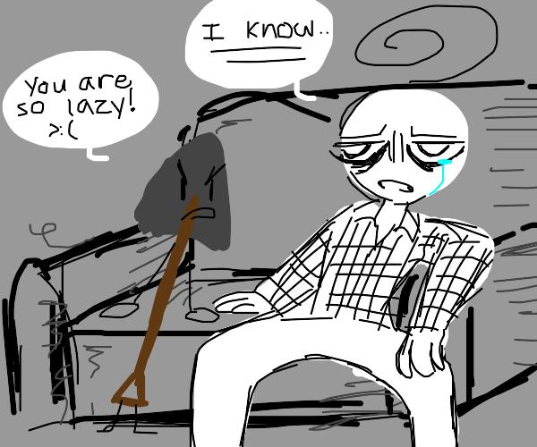 Shovel calls someone lazy