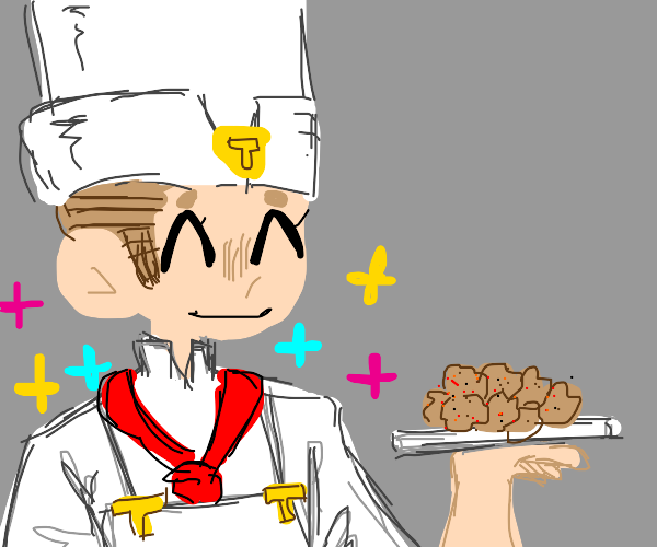 Tonio from Jojo making meatballs