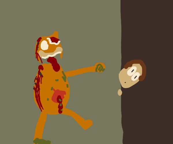 Zombie Garfield