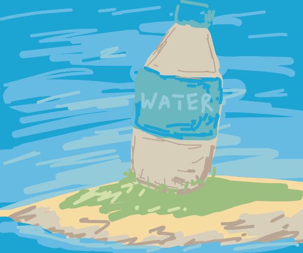 Water Bottle Island