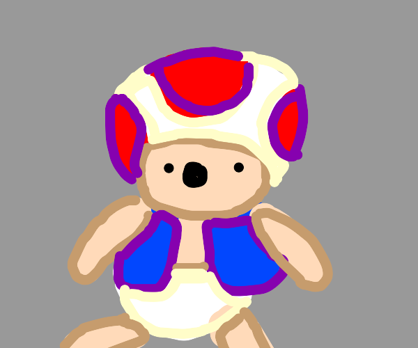 Playful Toad