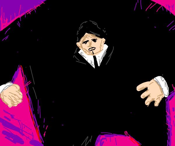 Markiplier in a tuxedo