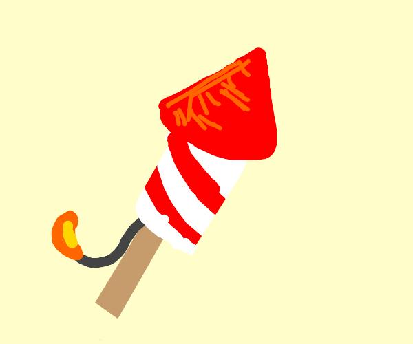 firework rocket