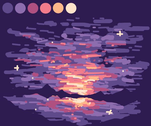 Sunset ville pallete