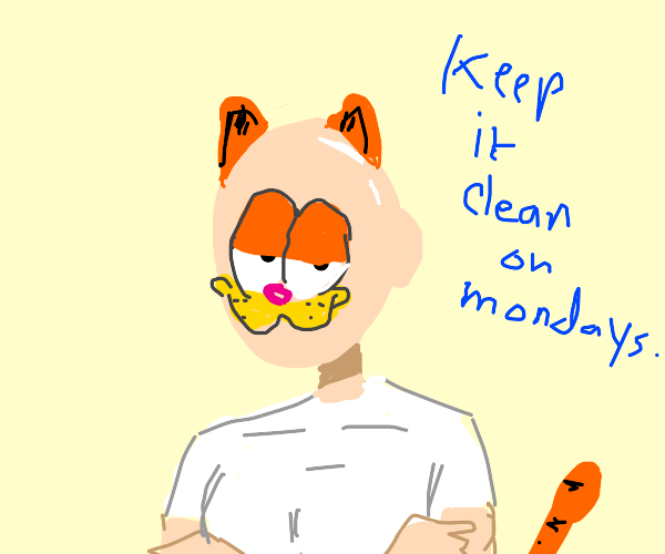 Mr. Clean Garfield hybrid