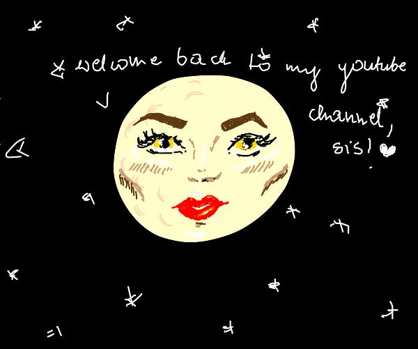 Moon equivalent of a beauty guru