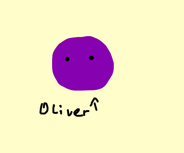 purple orb named oliver