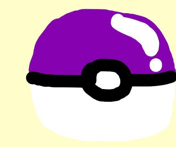 the purple pokeball