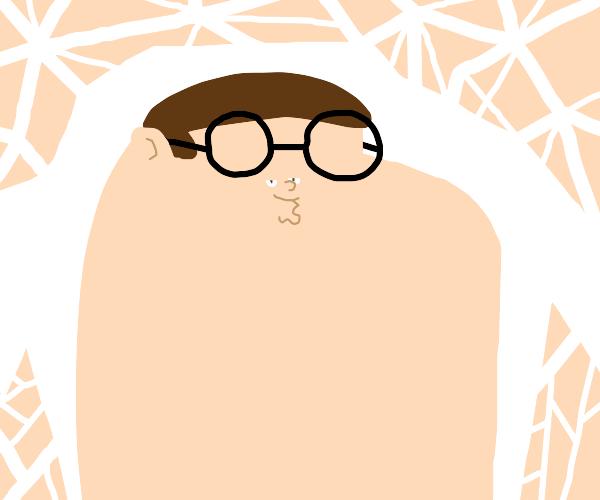 Peter griffin's face shrunk.