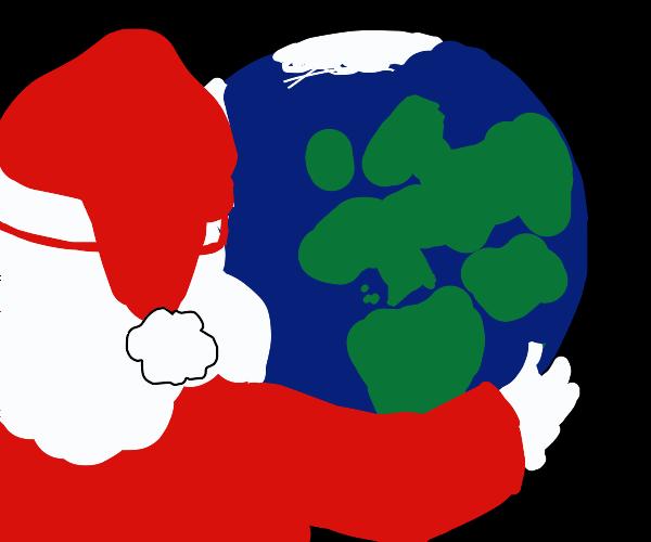 Santa conquers the world