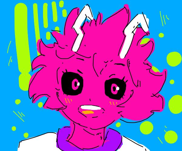 Mina from my hero academia