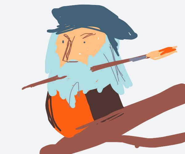 Leonardo DaVinci is a bird now