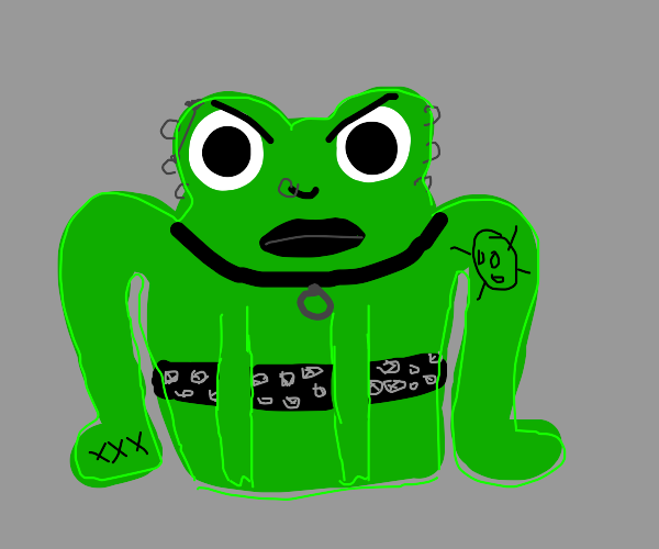 crazy frog (the annoying thing) - Drawception