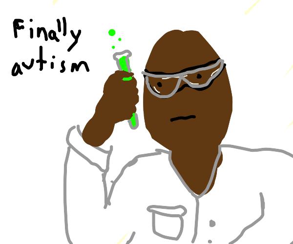 Guy makes pure autism serum