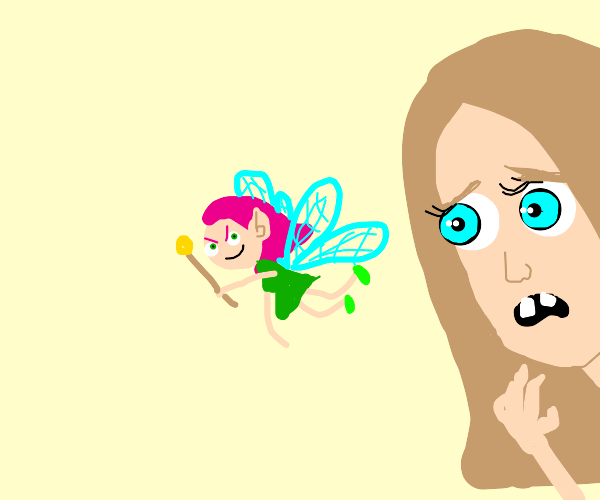 ffairy with wings