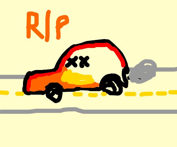 Car Dies