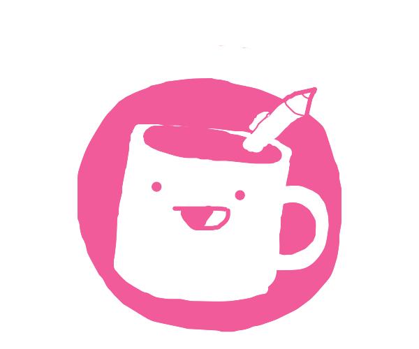 Happy Pencil Mug