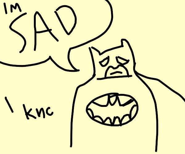 Batman is Suicidal :(