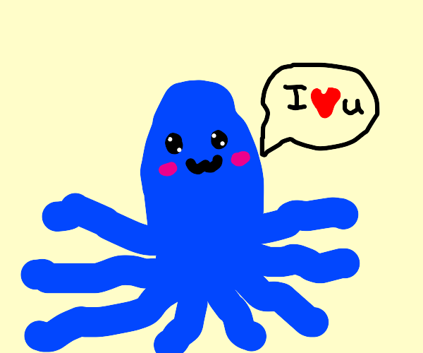 Octopus loves you!
