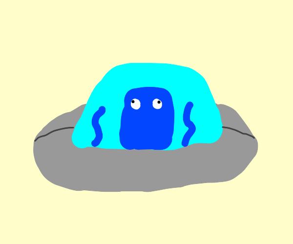 squid in UFO