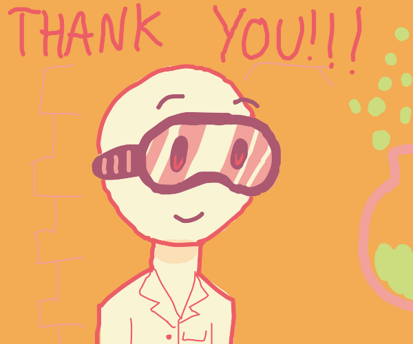 Scientist thanks