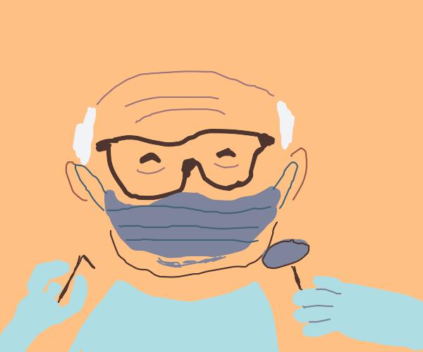 Danny devito as a dentist