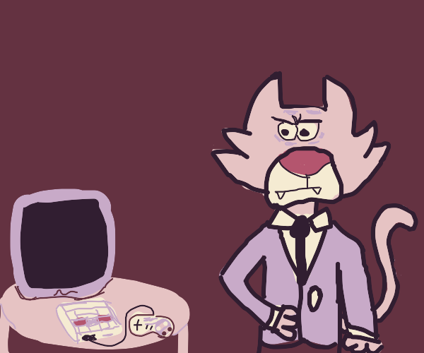 Snagglepuss's game console broke
